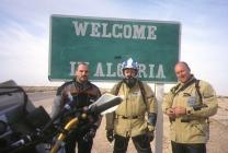 Arrival in Algeria from Tunisia