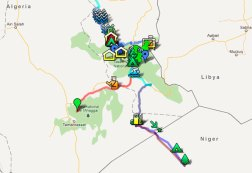 Google map of D Riders