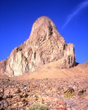Below Ilamane mountain.