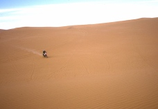 Jon on the dunes