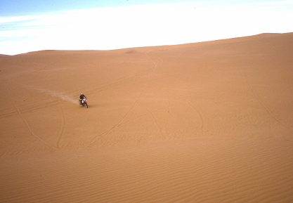 Jon on the dunes