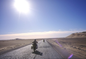 Desert Riders hit the road