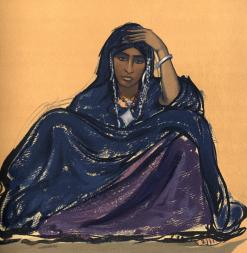 181. Mata, fille noble (Tamanrasset, Avril 1928)