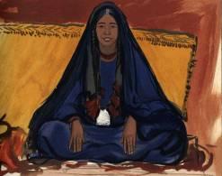 221.-Femme-targui-(campement-de-l'Amenokal)