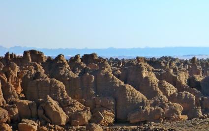 Libya (Akakus) at the back