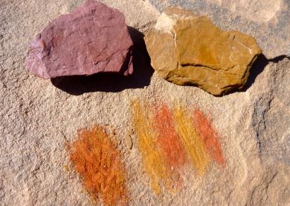 Ochre pigment
