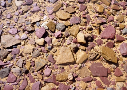 Ochre on the trail