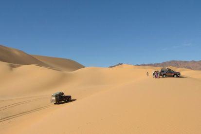 Into Temet dunes
