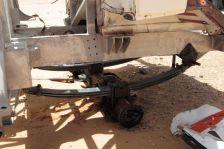 Nice springs on a Dakar Rally wreck