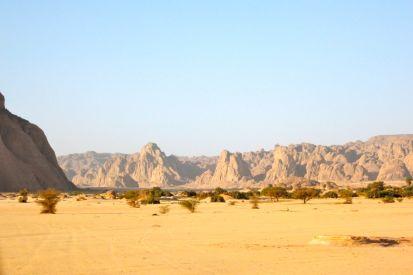 Edge of the Djado plateau