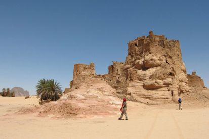 Djaba ruins, near Djado
