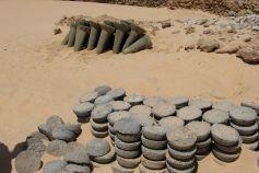 Salt pillars and cakes in Bilma