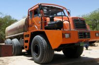 Chinese water tanker in Bilma