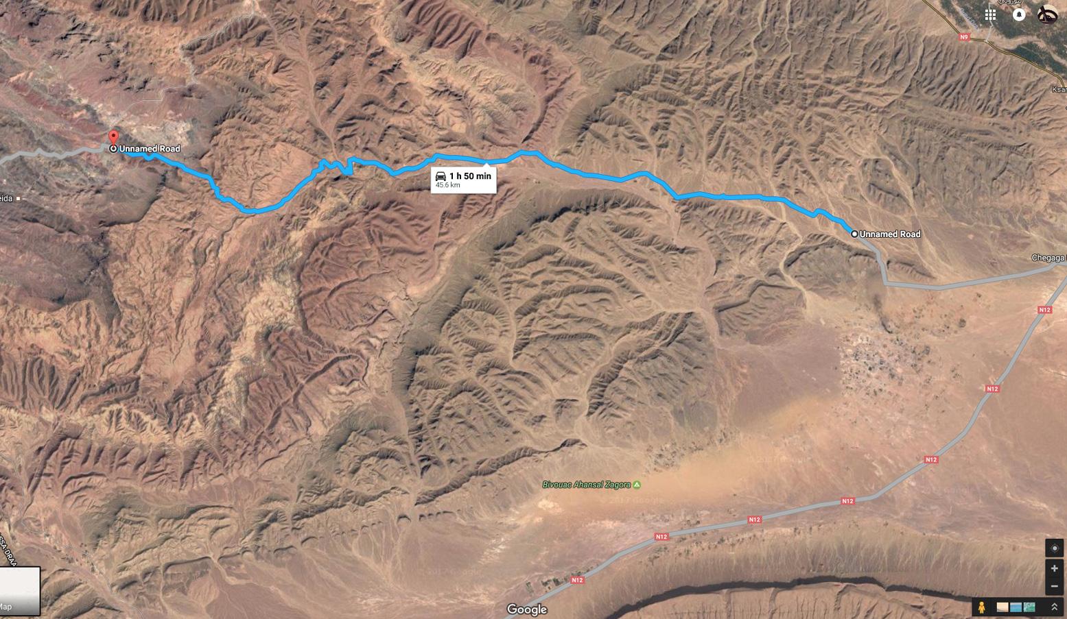 Morocco Maps Sahara Overland