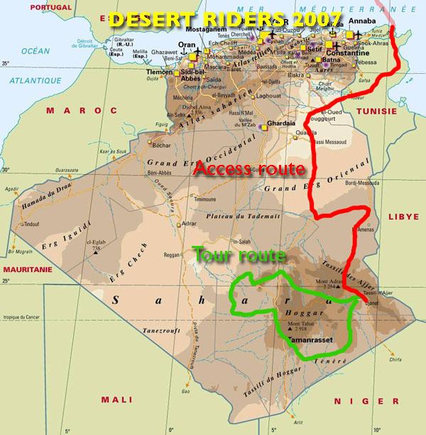Desert Riding in the Algerian Sahara Sahara Overland