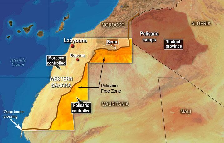 WESTERN SAHARA Sahara Overland