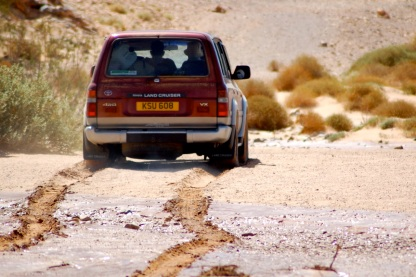 Muddy going
