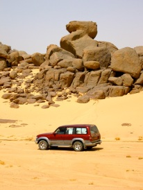 On the piste to Mali