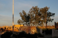The old bus at Camping Dessine