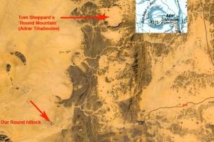 Round Mountain, Adrar Tihaliouine