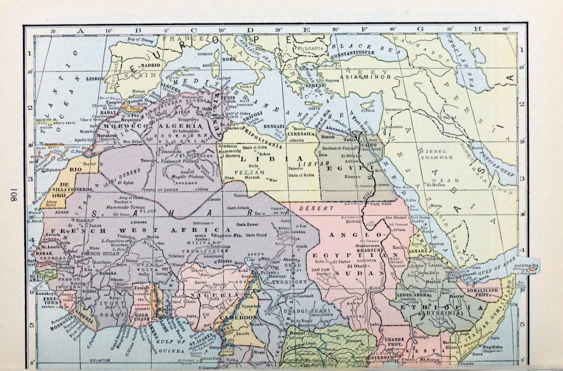 Map Of Africa Sahara.Sahara Maps Sahara Overland