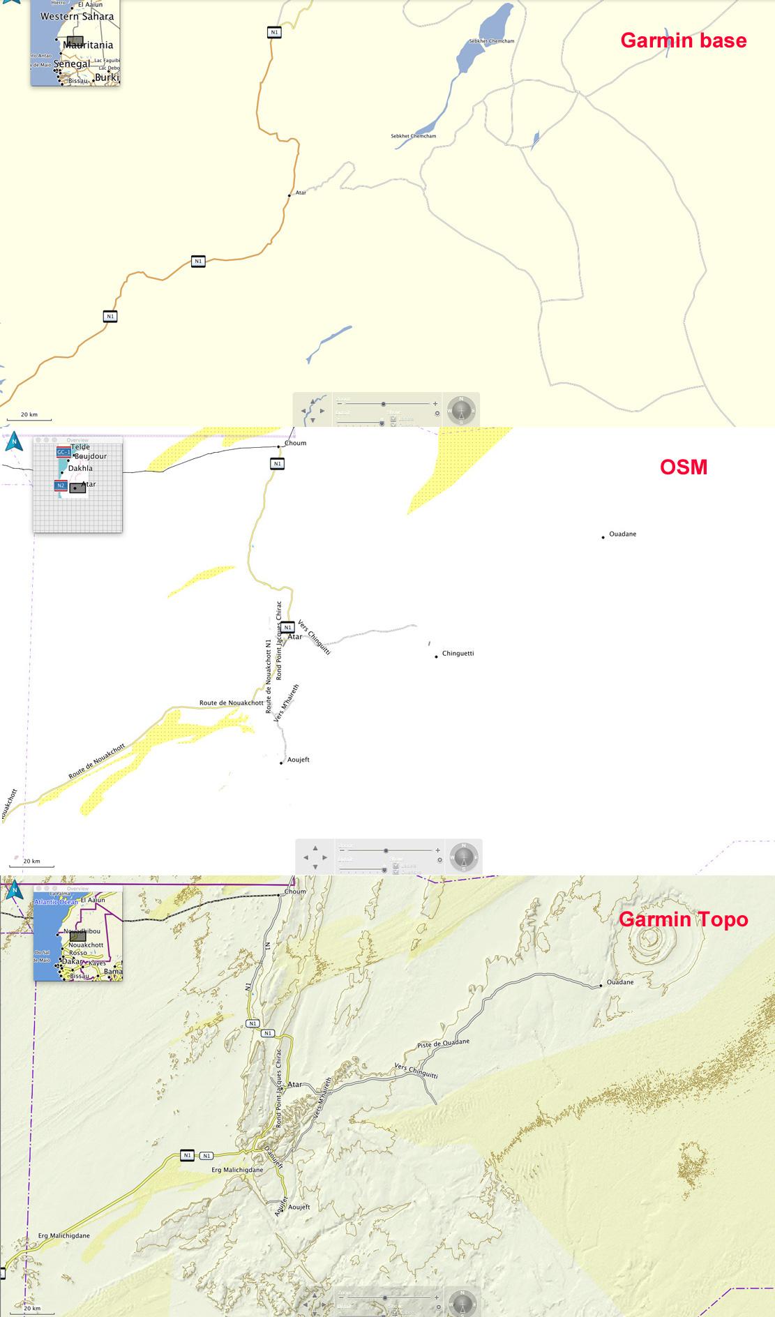 Garmin Topo North Africa Map Reviewed | Sahara Overland