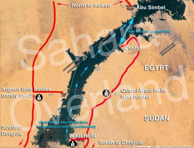 egypt-sudan-lake-nasser-border