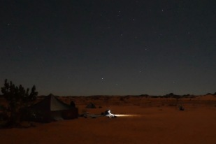 Night near Zarga
