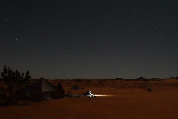 Night near Zarga