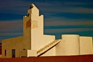 Le Corbusier mosque in Toungad