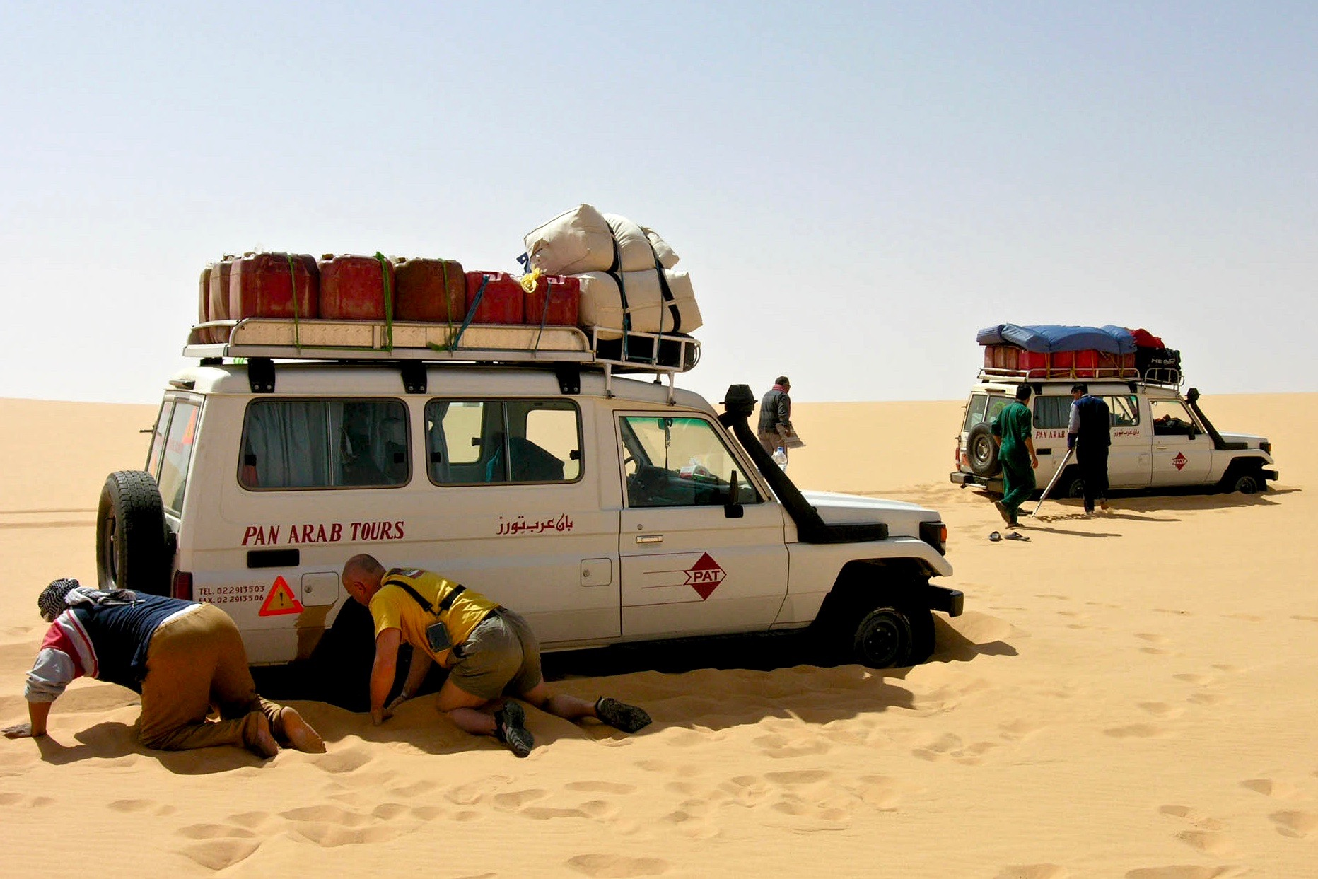 Trans Sahara Routes | Sahara Overland