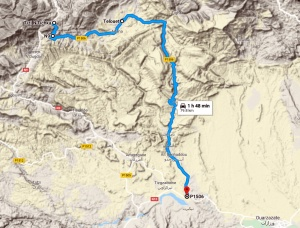 Telouet-route